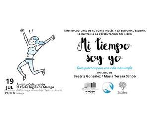 presentación libro Mi tiempo soy yo en Fnac Málaga