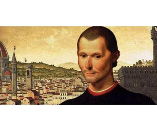 Maquiavelo fraces de escritores