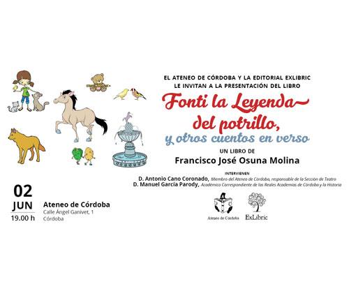presentacion-libro-FONTI_LEYENDA_POTRILLO_cordoba_ATENEO-portada