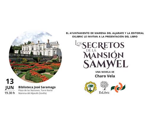 Presentación libro Los secretos de la mansión Samwel en Mairena del Aljarafe.