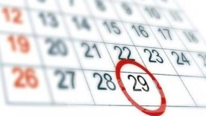 29 febrero calendario