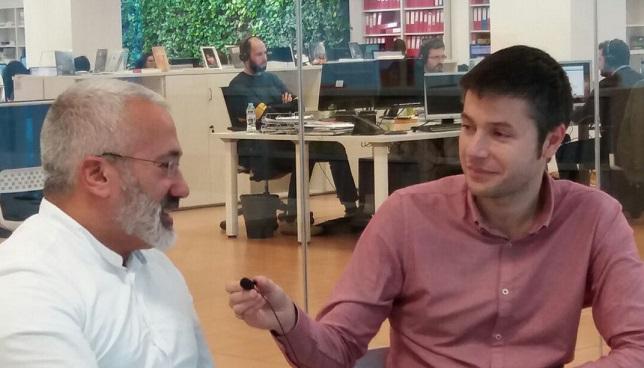 Entrevista escritores Jesús López