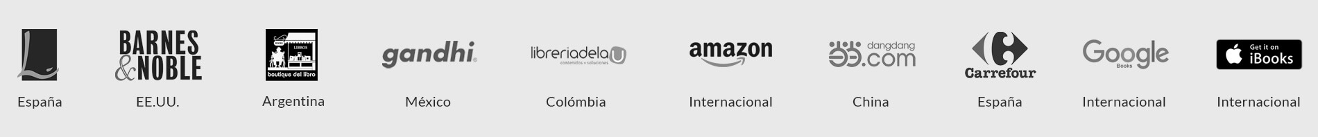 Librerías nacionales e internacionales distribución de Exlibric