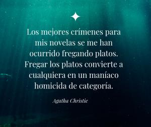 Citas de escritores agatha christie