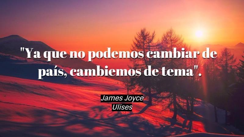 Frases James Joyce Editorial Exlibric