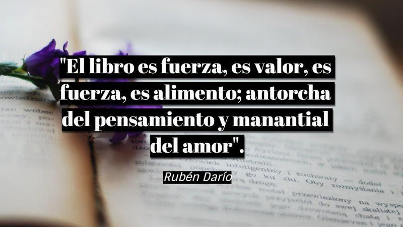 Frases Rubén Darío Editorial Exlibric