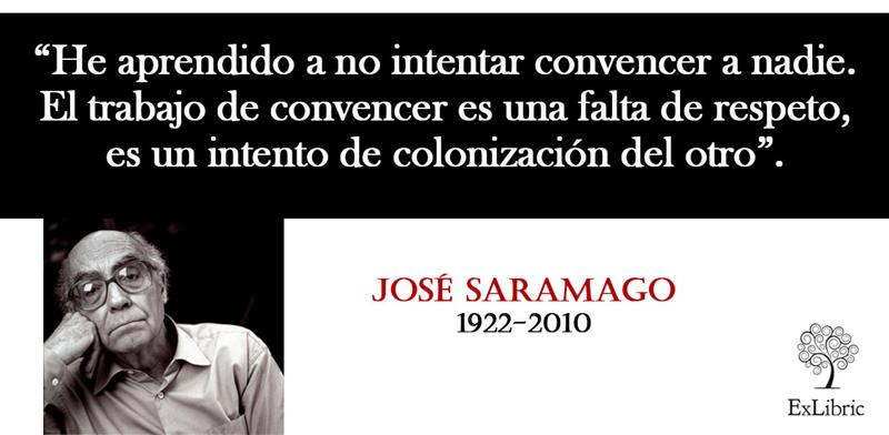 Frases De José Saramago Editorial Exlibric