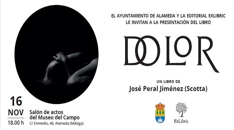 Alameda acoge la presentación de 'Dolor', peomario de José Peral.
