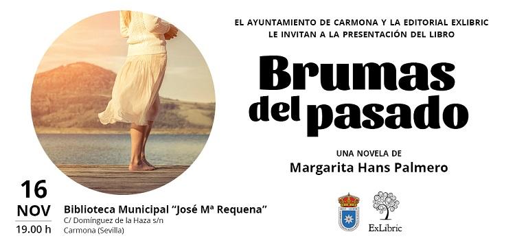 Carmona acoge la presentación de 'Brumas del pasado'