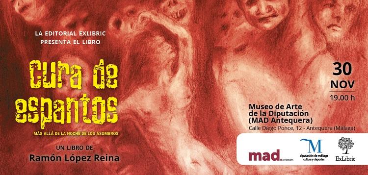 'Cura de espantos', libro de Ramón López Reina se presenta en Anetquera,