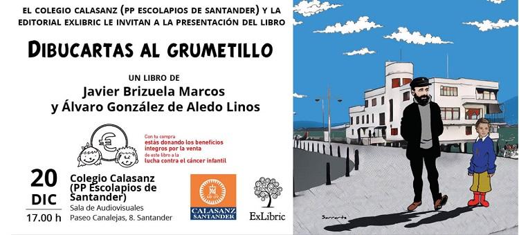 El Colegio Calasanz de Santander acoge la nueva presentación de 'Dibucartas al grumetillo'