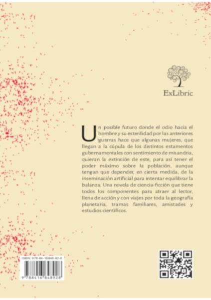 Contraportadas de El orden de la existencia, libro de editorial ExLibric.