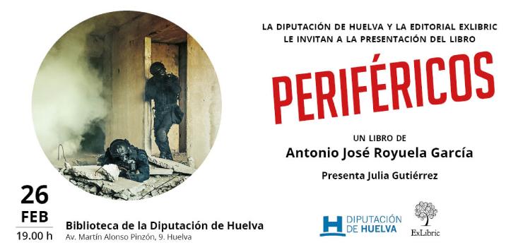 Antonio José Royuela presenta 'Periféricos' en Huelva