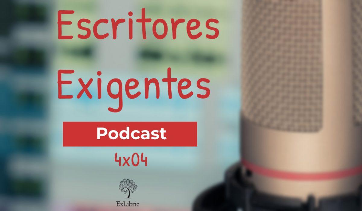 Cuarto episodio e la cuarta temporada de 'Escritores exigentes', con Vicente de los Ríos