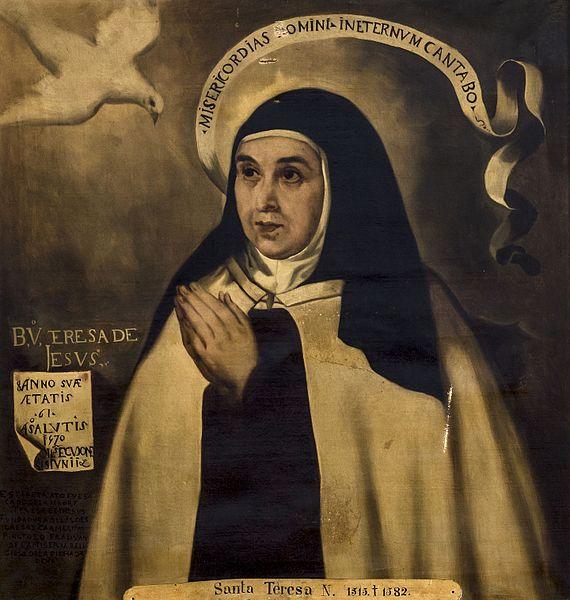 La obra de Santa Teresa de Jesús tuvo que hacer frente a la Inquisición