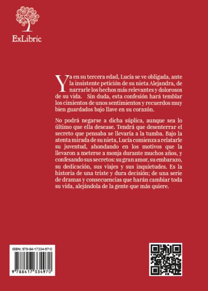 Contrada 'Atada al silencio', libro de editorial ExLibric