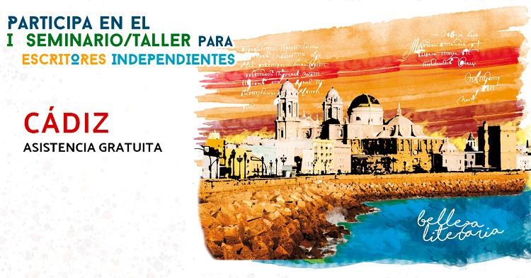 Los escritores independientes reciben a ExLibric en Cádiz.