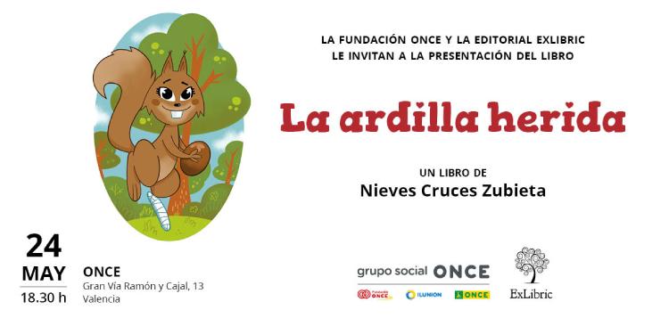 Nieves cruces presenta 'La ardilla herida' en Valencia