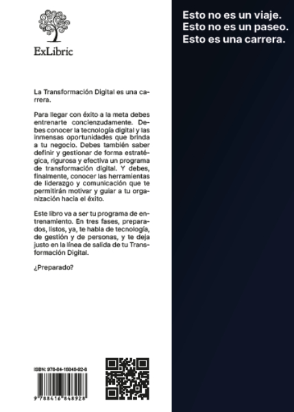 Contraportada del libro 'La carrera digital'