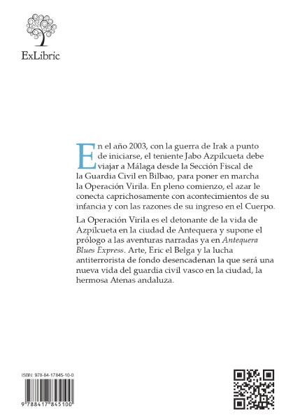 Contraportada de 'El fuego y el combustible', nueva novela de Juanjo Álvarez