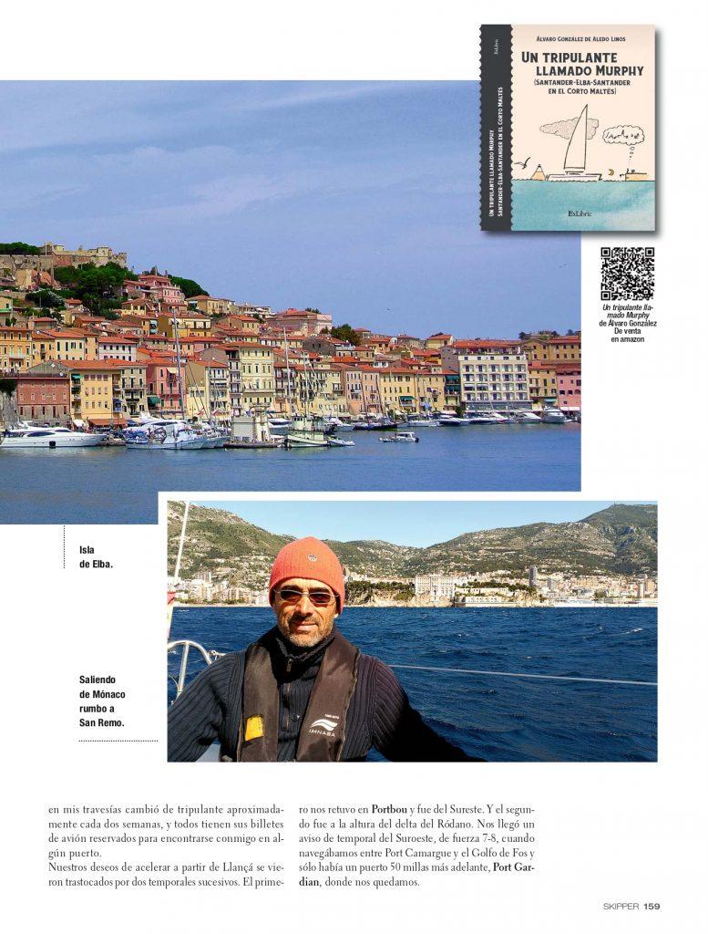 Segunda página de la entrevista de Álvaro González de Aledo en Skipper-0002