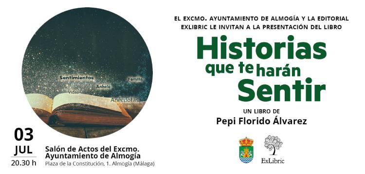Pepi Florido presenta 'Historias que te harán sentir' en Almogía