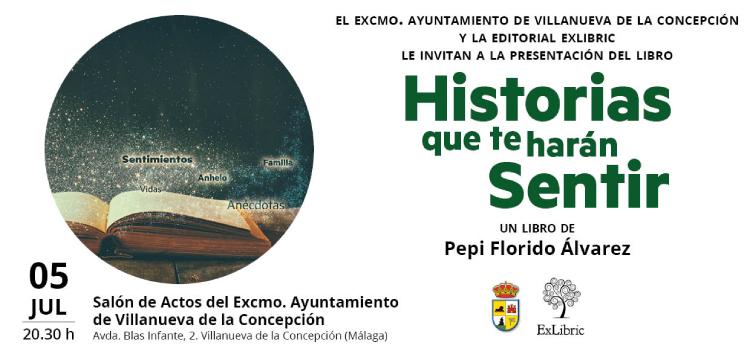 Villanueva de la Concepción age la segunda presentación de 'Historias que te harán sentir'