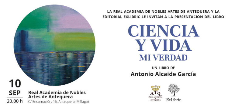 Antonio Alcaide te invita a la presentación de 'Ciencia y vida. Mi verdad'