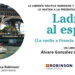 Librería Robinson acoge la segunda presentación de 'Ladrar al espejo'
