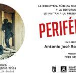 La Biblioteca Municipal Eugenio Trías y editorial ExLibric te invitan a la presentación de 'Periféricos'