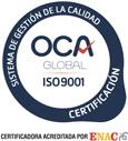 Sello de certificación ISO
