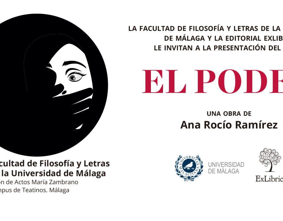 La Universidad de Málaga acoge la nueva presentación de 'El poder'
