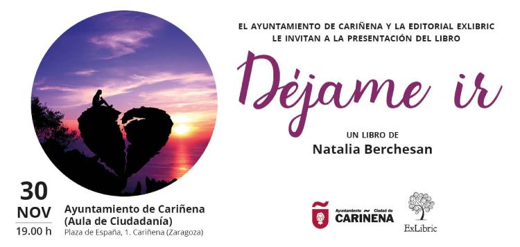 Cariñena acoge la nueva presentación de 'Déjame ir'