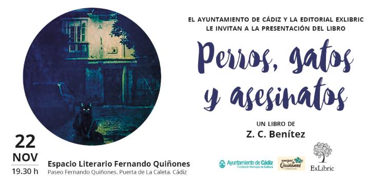 Cádiz acoge la presentación de 'Perros, gatos y asesiantos'