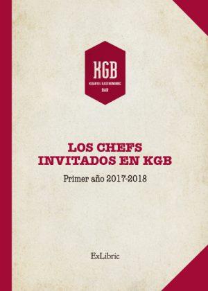 Editorial ExLibric presenta 'Los chefs invitados en KGB. 2017- 2018'