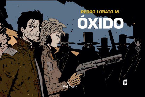 Editorial ExLibric presenta 'Óxido', novela gráfica de Pedro Lobato