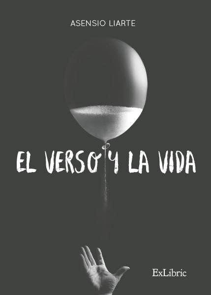 Portadad el poemario 'El verso y la vida'