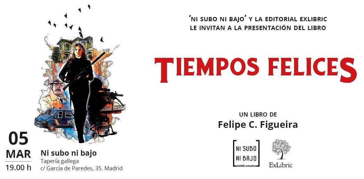 Madrid acoge la presentación del libro 'Tiempos felices'