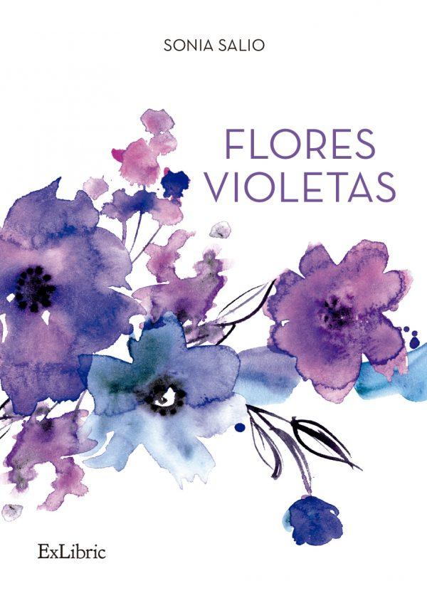 Flores Violetas de Sonia Salio. Exlibric