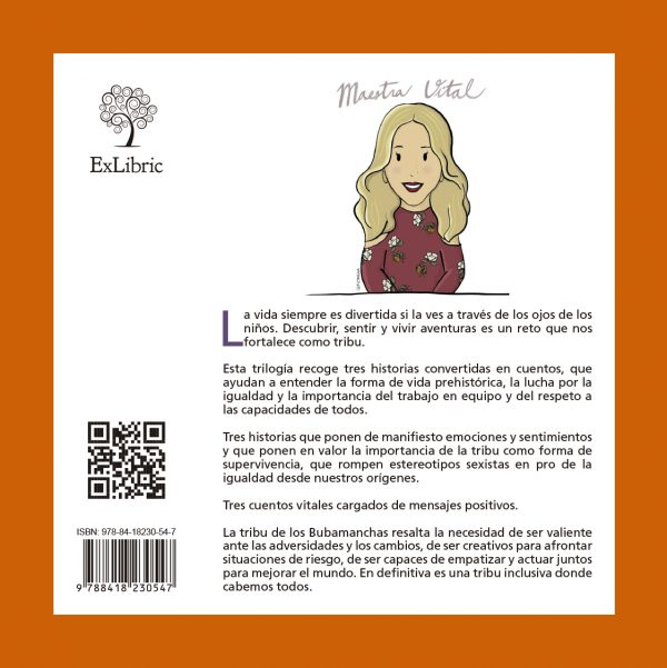 Trilogía Carvernícola de Ana María González. Exlibric