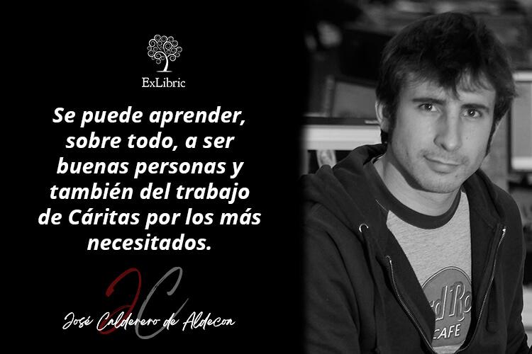 José Calderero de Aldecoa protagoniza nuestro nuevo encuentro con autores