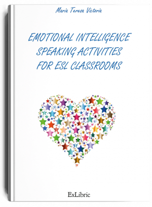 Emotional Intelligencefor ESL Classroomsis my contribution to English language teaching. Rather than aiming at writing this book, the activities shaped themselves one day into the form of this book after completing my doctoral studies in Emotional Intelligence and Mindfulness at the University of Málaga., libro de María Teresa Victoria